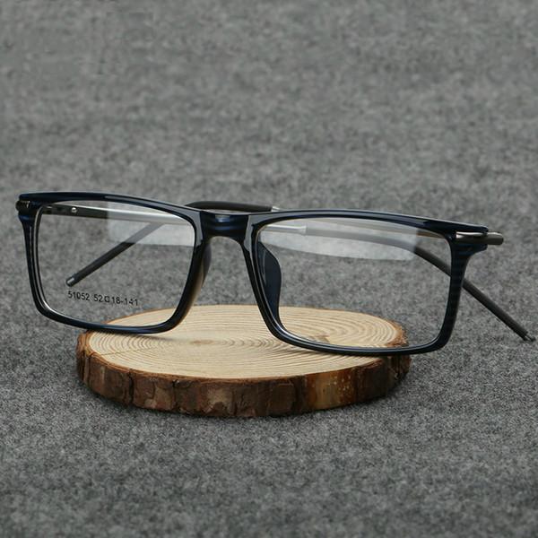 Vazrobe TR90 + Liga Óculos de Armação Dos Homens Slim Óculos Quadros para Masculino Lente Óptica Clara Custom-make Prescription Spectacles 2017