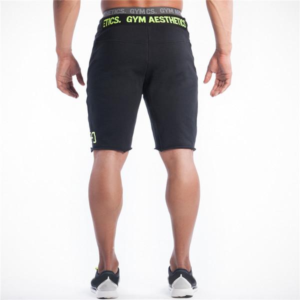 Carta Men Shorts Mens Slim Fit Curto Calças de Fitness Musculação Jogger Mens Marca duráveis Sweatpants aptidão Shorts Workout algodão