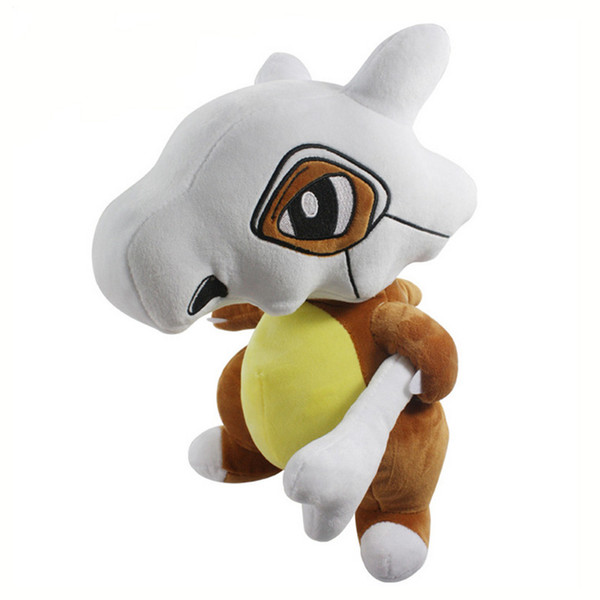 "Hot New 13"" 33CM Cubone Plush Doll Anime Collectible Dolls Stuffed Party Gifts Soft Toys"