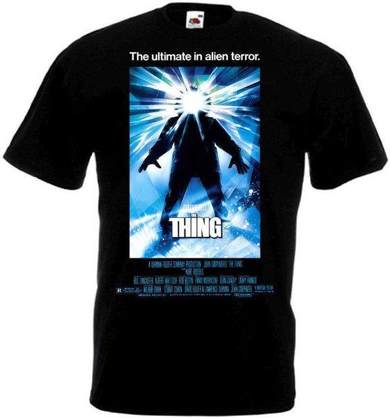 Şey T Gömlek Siyah Film Afiş Tüm Boyutları S-3XL Erkekler T Gömlek Baskı Pamuk Kısa Kollu T-Shirt Yeni 2018 Moda Yaz
