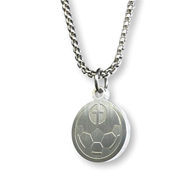 Xinyao Из Нержавеющей Стали Футбол Бейсбол Ожерелье Для Женщин Мужчин Длинные Цепи Себе Ожерелье Спортивные Ювелирные Изделия Колье