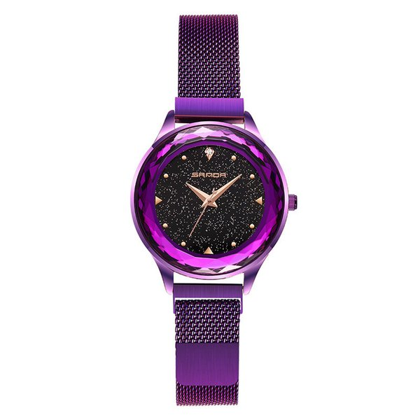 New net red shaking sound iron female student table fashion star Korean version of the trend simple ladies lazy watch