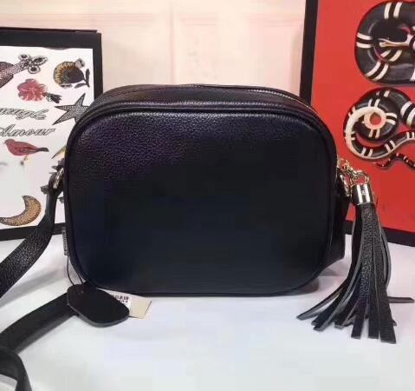 c2da1f548fe Women Leather Soho Bag classical Flap Shoulder handbags Women Single disco  Bag Purse