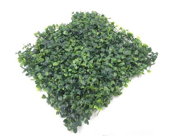 wholesale artificial turf Artificial plastic boxwood grass mat 25cm*25cm free shipping Q3501