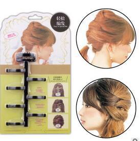 Black Brown Best-selling Fancy Centipede Hair Braiders DIY Black Brown Hair Clips Hair Care & Styling Tools Drop-shipping