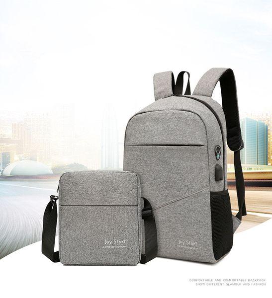2018 Explosion leisure travel backpack male multi-function Korean laptop bag school bag Laptop Cases & Backpack wholesale DHL shipping