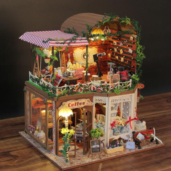 1:12 miniature PIEGHEVOLE IN LEGNO SCALA A LIBRETTO scale casa delle bambole fai da te Strumento Home Decor