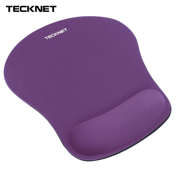 TeckNet Gaming Office Mouse Pad Matte Ergonomische Mousepad Build-in weichen Schwamm mit Gel Rest Handgelenkstütze