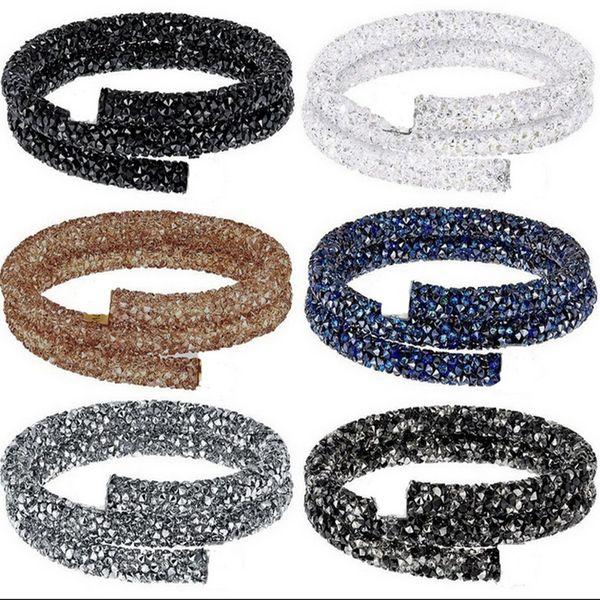 Decoración del partido Artesanía Dia.7mm, Length1m Cuerda de cuerda de tubo suave con resina Rhinestone para DIY Fashion Show bolsas ropa