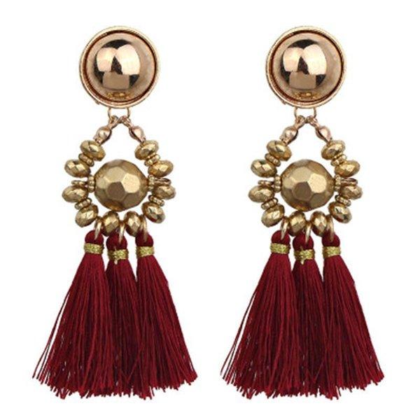 Womens Statement Earrings Long Tassel Fringe Boho Dangle Earrings Jewelry Gifts