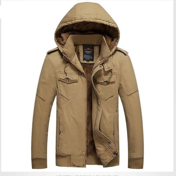 Samt Fashion 100Baumwolle Winter Oberbekleidung Dicke Warm Schlank Kapuzen Lose Großhandel Männer Für Herren Mantel Plus 4xl Jacke 6yb7gf