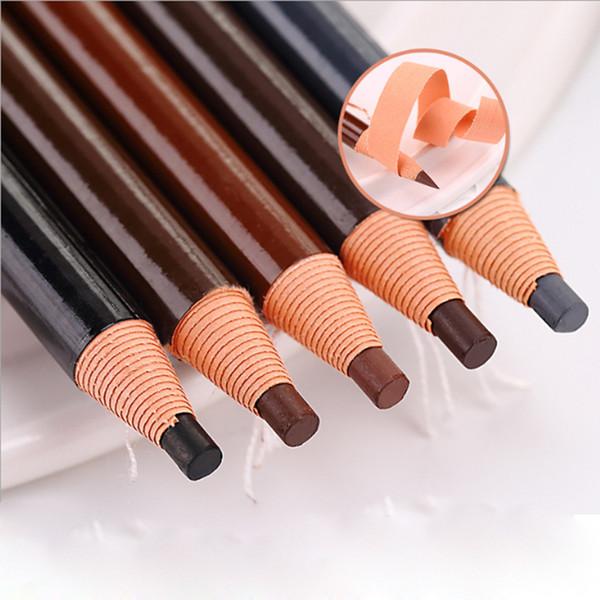 1PC Microblading Eyebrow Tattoo Pen Waterproof Permanent Makeup Eye brow Pencil Positioning Lip Eyebrow Crayon Enhancer