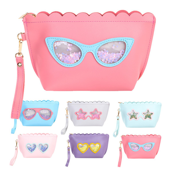 SAFEBET Cute Portable Fashion Women Girl Sequin Cosmetic Bag Necessaries Small Make Up Pouch Toiletry Waterproof Zipper Purses