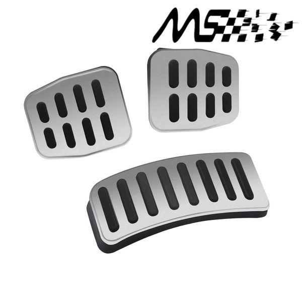 Manual car Stainless Car Transmission MTpedal Cover for VW Polo Bora Lavida Fabia Clutch Accelerator Brake Gas pedal Kits