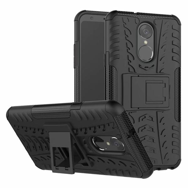 6.2 дюймов Для LG Stylo 4 Case Сверхмощный Броня Противоударный Прочный Силиконовая Рези