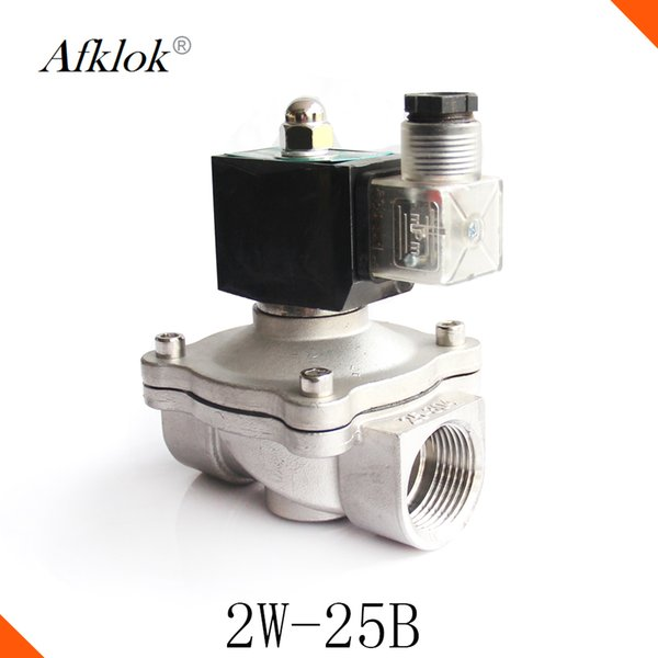 Hot Sale High pressure normally closed 110/220v ac Stainless steel 1 inch hydraulic solenoid valve price