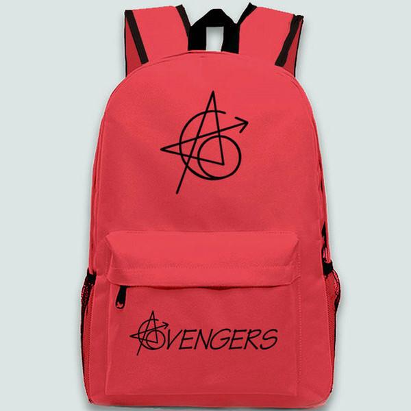 Zaino Avengers 6 logo bag scuola logo Super hero daypack Zaino per il tempo libero Zaino outdoor Zaino sportivo