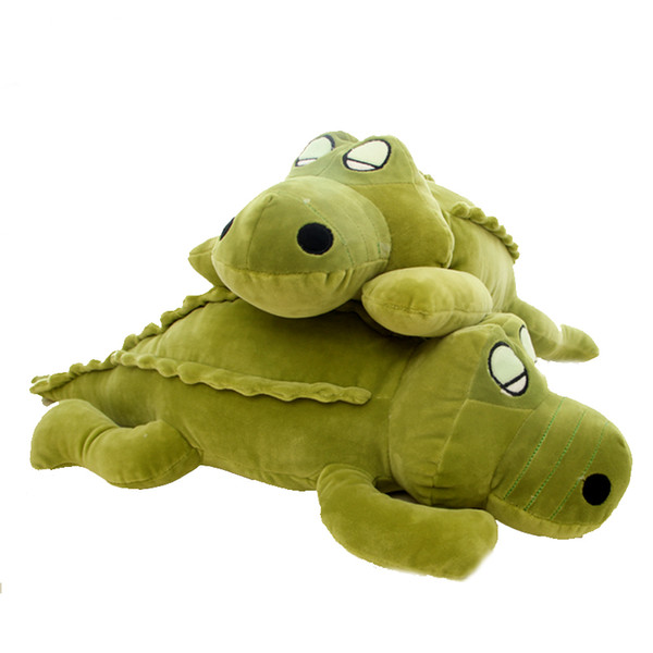 cute crocodile plush pillow doll alligator toys girl sleeping pillow plush toy birthday gift 43inch 110cm DY50325