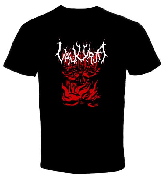 Valkyrja - Logo 01 T-shirt 2018 T-shirt drôle T-shirts mignons Homme 100% coton cool