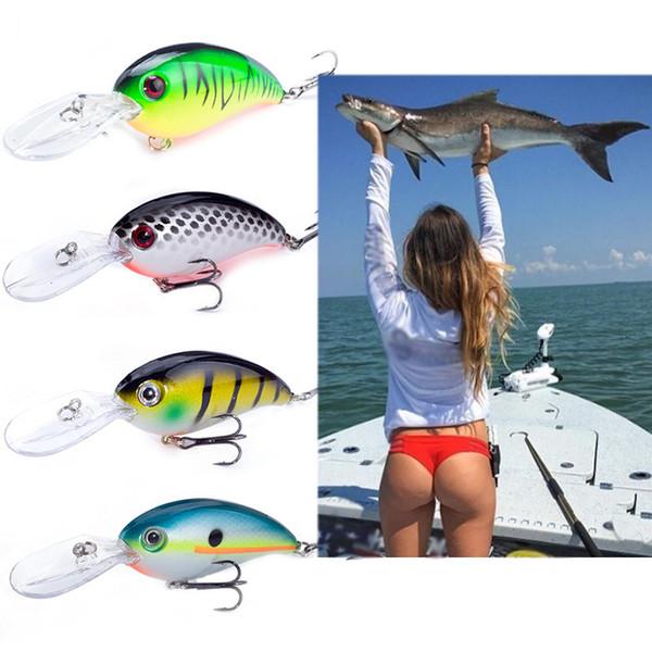 SEALURER Brand Big Wobbler Fishing lures 10cm14g sea trolling minnow artificial bait carp peche crankbait pesca jerkbait Y18100806