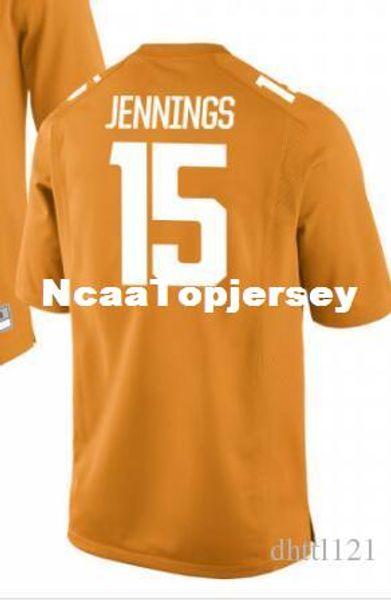 Cheap Men #15 White Orange Jauan Jennings Tennessee Volunteers Alumni Jersey Stitched Football jerseys