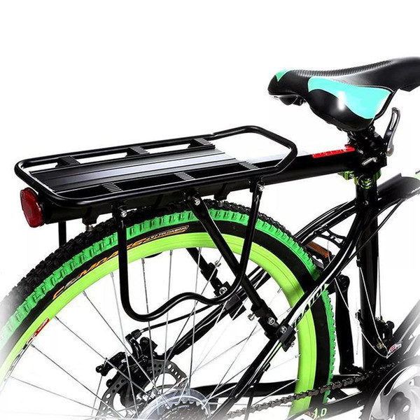 Bike Bicycle Quick Release Carrier Rear Rack Fender Luggage Seat Post Pannier US