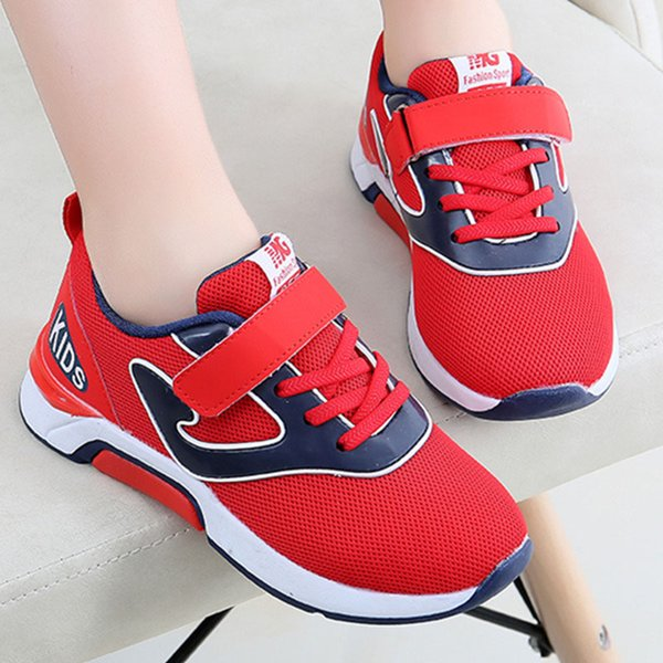 Hot Sale Children's Shoes Spring Autumn Boys Girls Fashion Comfortable Breathable High-quality Anti-slip Kid Sport Shoes Wear resistant warm