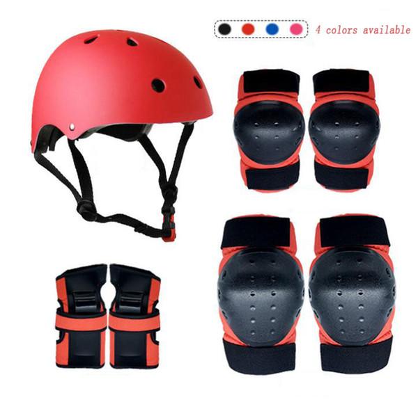Child protective equipment Knee suit roller skater helmet Drop resistance sport suit