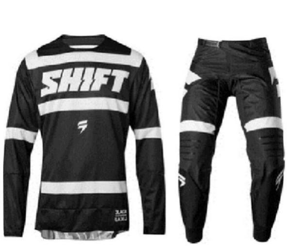 Frete grátis ao ar livre de manga longa camiseta motociclista calças terno terno terno de corrida