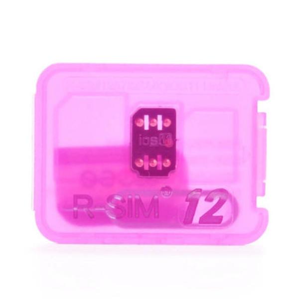Rsim 12 r sim 12 RSIM12 black gold chip unlock card for iphone x 8 7 plus and i6 unlocked iOS 11 ios 11.x-7.x 4G CDMA GSM WCDMA SB AU SPRINT