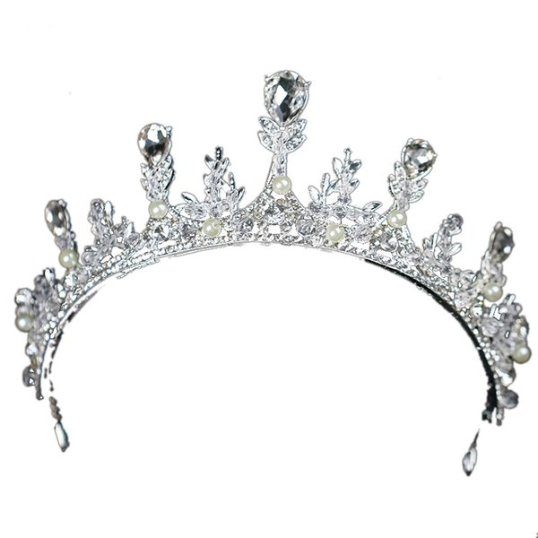 temperament Diamond insert crystal An crown tiara wedding bridal hair accessories veils designer hats accessories beach wedding dresses