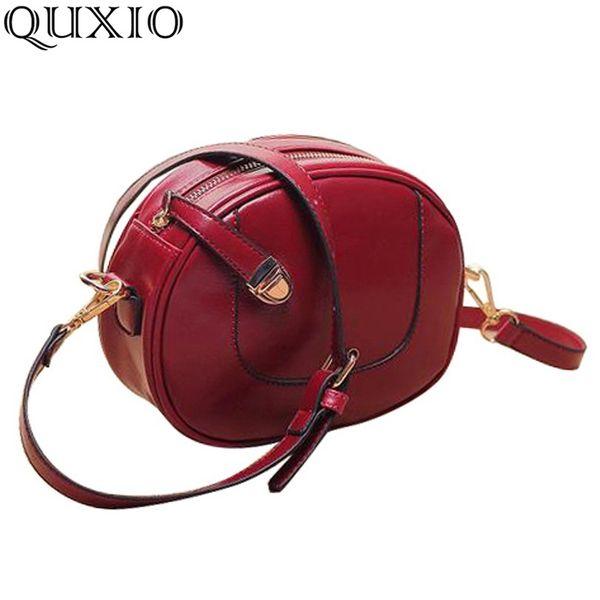 2017 New Europe Style Fashion Vintage women leather handbag small mini bag women shoulder bag crossbody clutch QWT043
