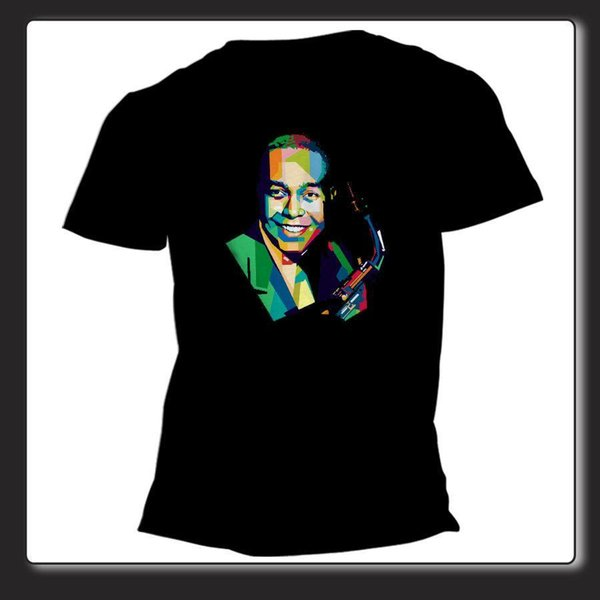 T Shirt Unisex  Charlie Parker sax USA cod 0457