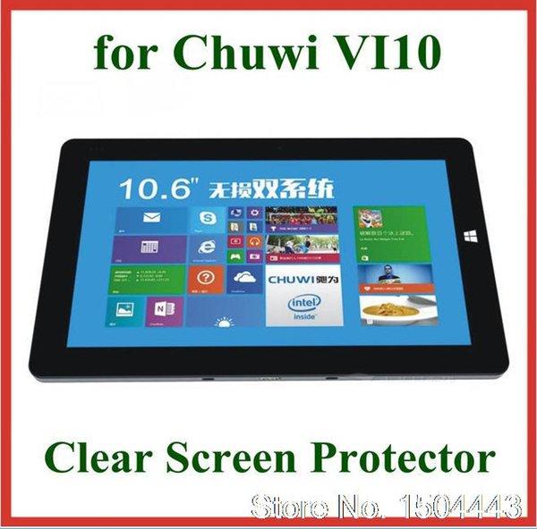 2pc High Clear HD Transparent Displayschutzfolie für Chuwi Vi10 10.6 Zoll Displayschutzfolie