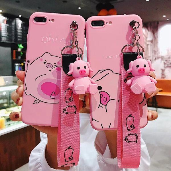 coque telephone iphone 6 cochon