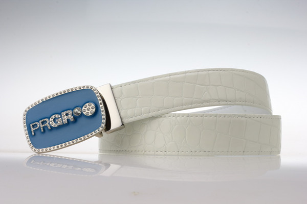women golf belt sports waistband genuien leather waist belt for lady pants skirt 90-105cm Alligator Pattern girl golf