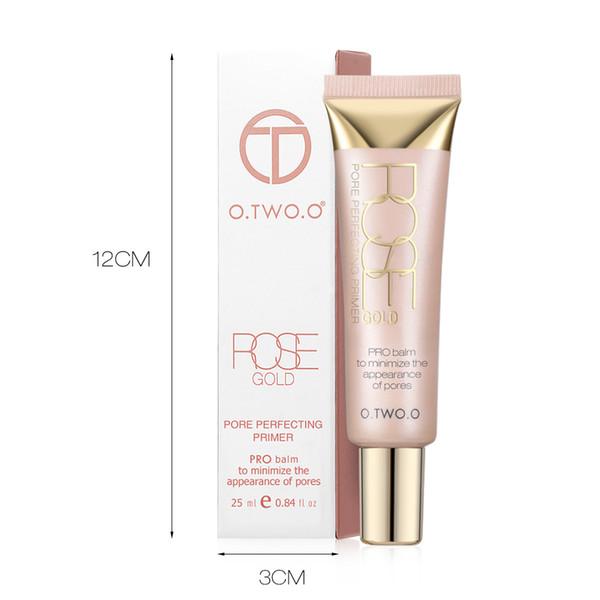 O.TWO.O Marque Étape 1 Primer peau Equalizer base de maquillage Transparent Foundation Primaire Hydratante Primaire