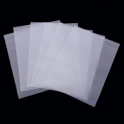 Frosted OPP Bags cloths bags transparent courier 10*15cm jewellery zip lock package plastic bags custom self-adhesive self-adhesive pouches