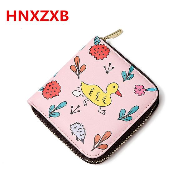 HNXZXB 2017 New Fashion Women's Purse Card Holder Women Small Wallet Zipper Clutch Coin Purse Female Bag Femme 01