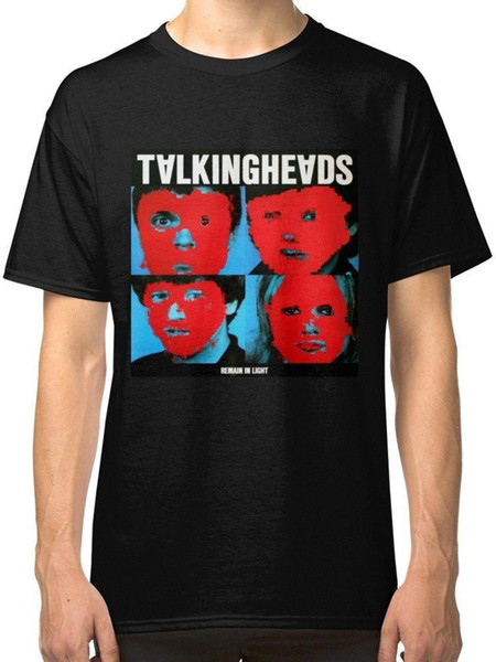 Talking Heads Black T-Shirt Tees Ropa