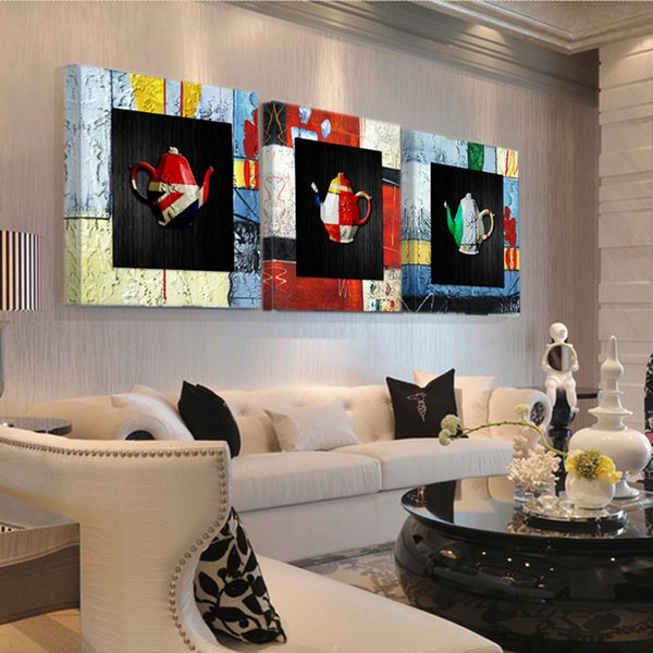 Wall Color Paint Splash Abstract Minimalism Modern Canvas Painting Art Wall Picture Print Home Decor S361