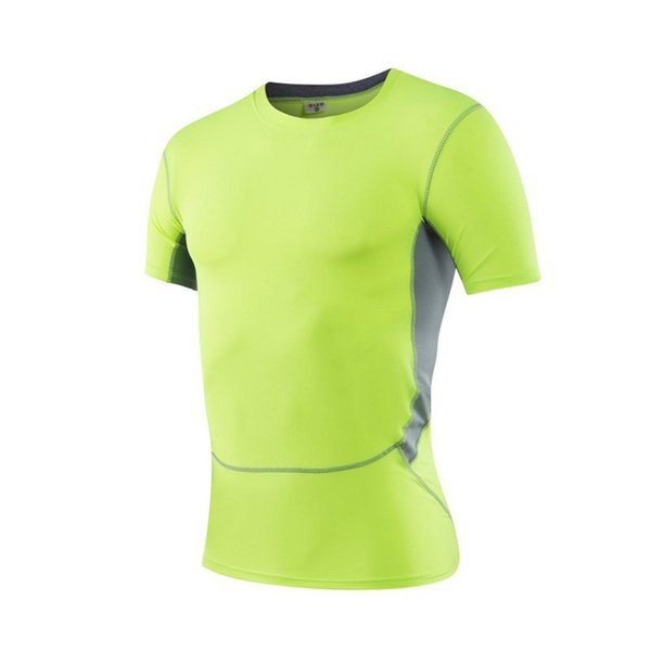 Mens Fast Dry Running T-Shirts Compression Shirt Base Layer Tight Top Sports Gear Collection