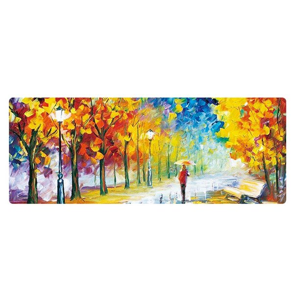 Hot Sales Speed Version Large Gaming Mouse Pad Mat For Laptop Computer Desk Pad Keyboard Oil Painting Mouse