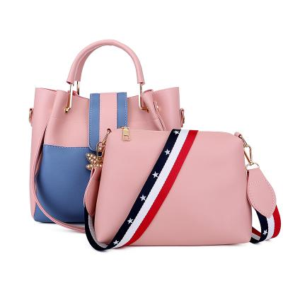 b08808f78766 New Bee Two Tone Mother Bag Women Shoulder Crossbody Messenger ...