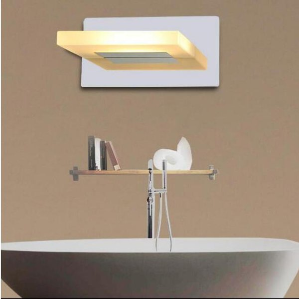 SVITZ Modern Led wall fixtures Bathroom acrylic Led mirror light indoor Lighting wall sconce with led strip Toilet Wall Lamp Arandela
