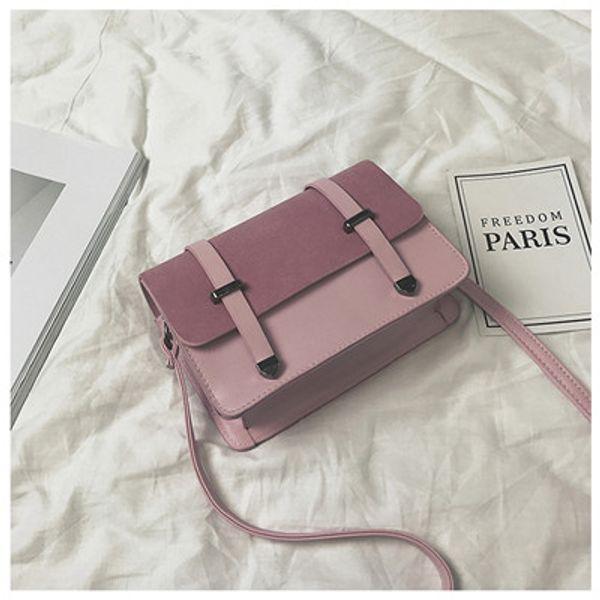 New fashion handbags solid color matte double arrow shoulder diagonal mobile phone bag Japan and South Korea foreign trade wholesale women