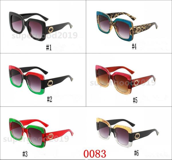 Compre Moda Mujer Diseñador De Lujo Gafas De Sol Mujer Marco ...