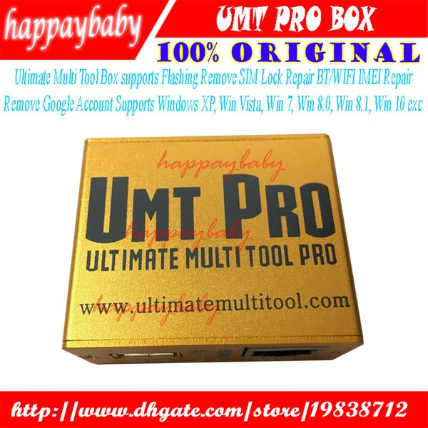 2018 Newest 100% Original UMT Pro BOX UMT+Avengers 2in1 Box Umt Box Pro  With 1 USB Cables How To Unlock Cell Phones How To Unlock Phones For Free  From