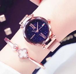 New Sliver Magnet strap watch purple gold Lady Steel Chain wristWatch relogio feminino WristWatch Rhinestone Casual watch clock Good gift