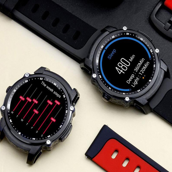 High-tech FS08 Bluetooth Smart Watch Waterproof IP68 Swim GPS Sport Fitnes Tracker Stopwatch Heart Rate Monitor Wristwatch for Android